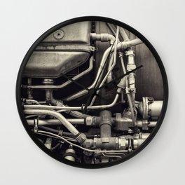 Jet Engine Mechanics Wall Clock