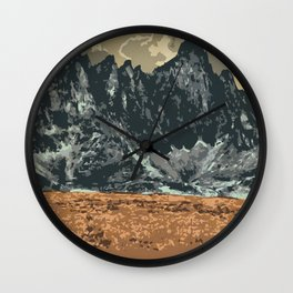 Tombstone Territorial Park Wall Clock