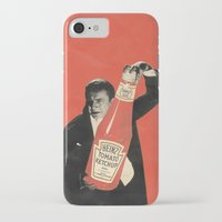 vegetarian iPhone & iPod Cases featuring Vegetarian Vampire by Karolis Butenas