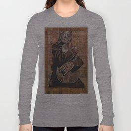Willie's Guitar Long Sleeve T-shirt