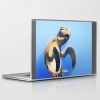 turtle Laptop & iPad Skins featuring Turtle by Anya McNaughton