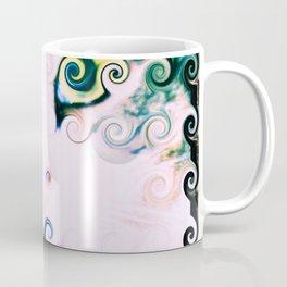 Cat Abstract Coffee Mug
