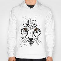 cheetah Hoodies featuring Cheetah by Danny