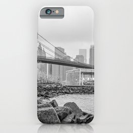Brooklyn Bridge and Jane's Carousel iPhone Case