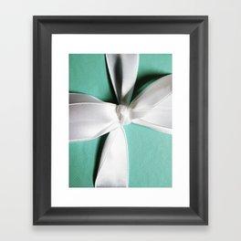 Tiff's Blue Box Framed Art Print