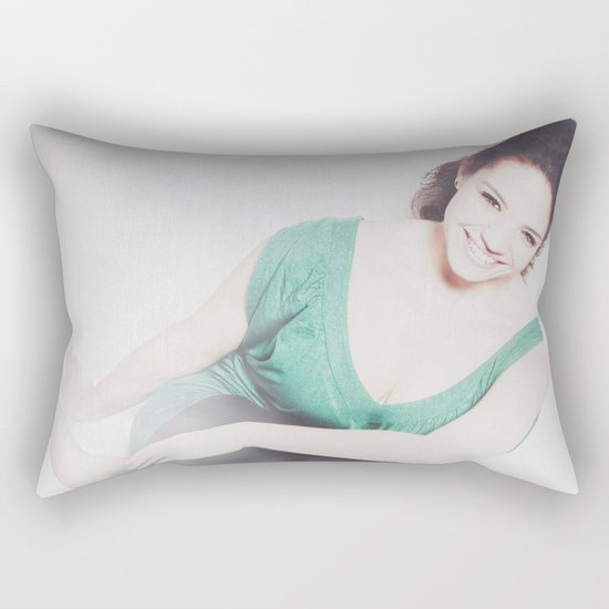 Fashion - Smile Rectangular Pillow