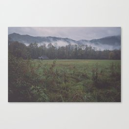Oconaluftee Visitor Center Canvas Print
