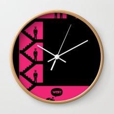 WTF? Close! Wall Clock