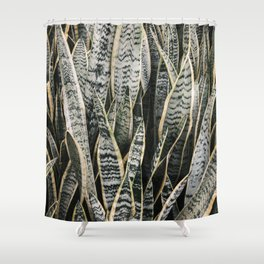 Plant Photography Tropical Exotic Plants Snake Tongue Beauty Wild Nature Shower Curtain
