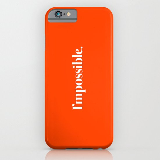 I'mpossible iPhone & iPod Case