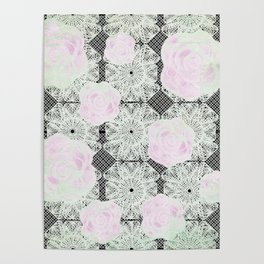 Worn Lace Poster