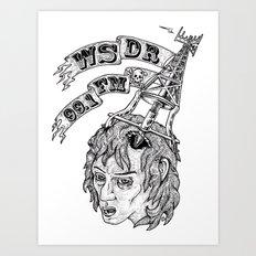 WSDR Art Print