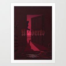 Umberto - The Horror Art Print