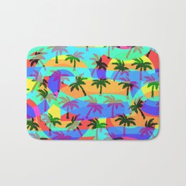 Tropical euphoria Bath Mat