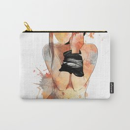 Shibari - Japanese BDSM Art Painting #5 Carry-All Pouch