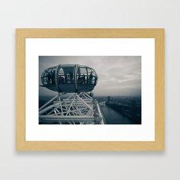 Urban Places - London Eye Framed Art Print