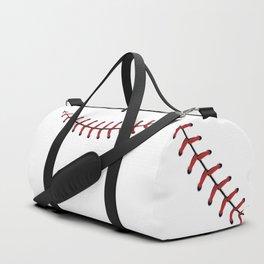 Baseball Lace Smile Duffle Bag