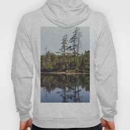 trees and reflections Hoody