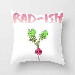 Sorta Rad Throw Pillow