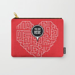 Finding Love Carry-All Pouch
