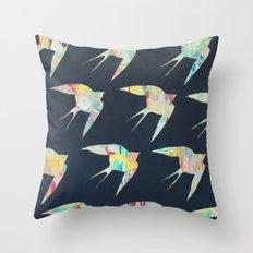 Australian Welcome Swallow I Throw Pillow