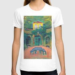"Koloman Moser ""Yellow house in a landscape"" T-shirt"