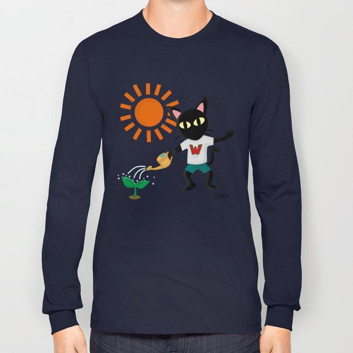 Make a green Long Sleeve T-shirt