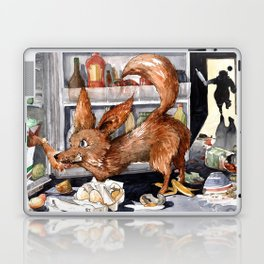 It is the foxy fennec who purged whole fridge Laptop & iPad Skin