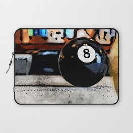 Shooting For The Eight Ball Laptop Sleeve