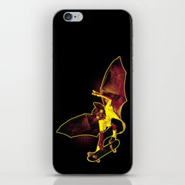 Skate Bat iPhone Skin
