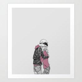 Bughead Hugs Art Print