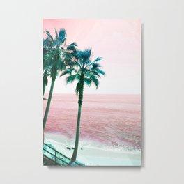 Why Not Pink Metal Print
