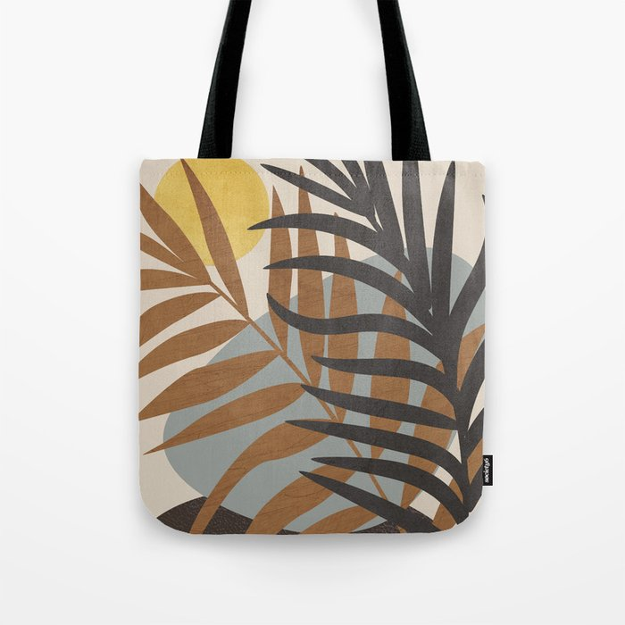 Abstract Tropical Art IV Tote Bag