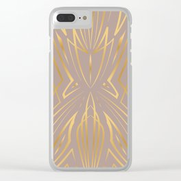Pinstripe Pattern Creation XXXI Clear iPhone Case