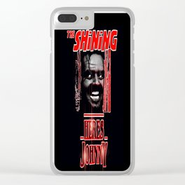 The Shining Here's Johnny Clear iPhone Case