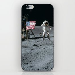 Apollo 16 - Astronaut Moon Jump iPhone Skin