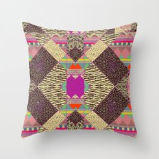 RETRO KALEIDOSKOPE   Throw Pillow