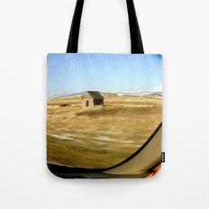 Snap Shot Out The Car Window Tote Bag