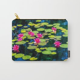 Dancing Lilies by Teresa Thompson Carry-All Pouch