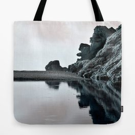 Reflections Of A Floating Coast Tote Bag
