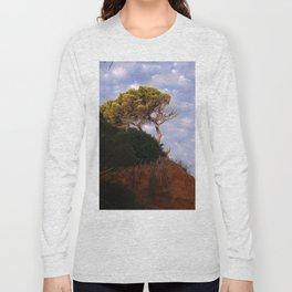 Tree on the Algarve coast Long Sleeve T-shirt