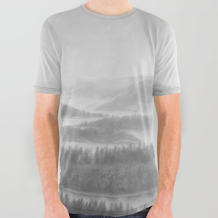 Northern Shores All Over Graphic Tee