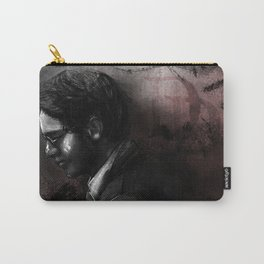 Charcoal and Devilry Carry-All Pouch
