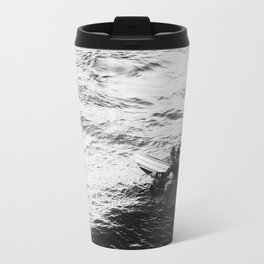 Surfer in Water Travel Mug