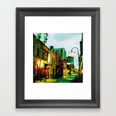 Chinatown Colour Framed Art Print