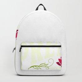 Premium Coworker | Best Coworker - Red lotus flower Backpack