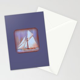 Ghost Sails Stationery Cards