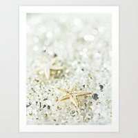 starfish Art Prints featuring Starfish by Monika Strigel