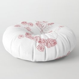 Spirit of the Forest Floor Pillow