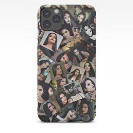 CBQ Gothic girl collage iPhone Case